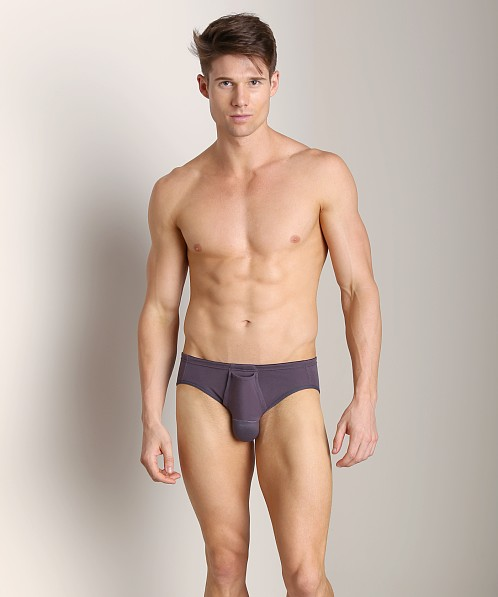 Balls in One Cotton Low Rise Erector Brief Grey