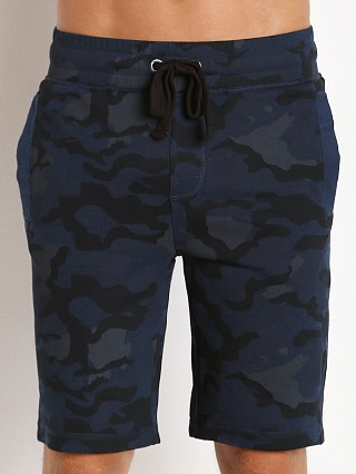 2xist Active Core Terry Shorts Blue Camo