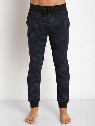 2xist Active Core Terry Sweat Pant Blue Camo