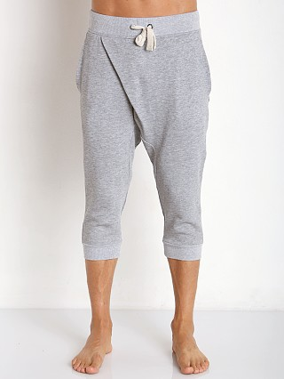 2xist Incline Cropped Origami Pant Grey Heather