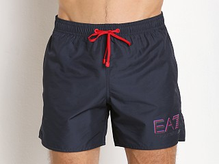 Emporio Armani Sea World Swim Shorts Navy