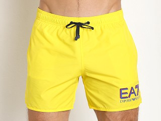 Emporio Armani Sea World Swim Shorts Vibrant Yellow