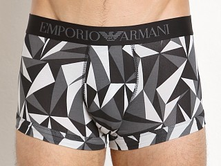 Emporio Armani Pattern Mix Trunk Grey Triangles
