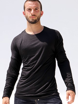 Complete the look: Rufskin Oliver Rayon/Lycra Long Sleeve Tee Black