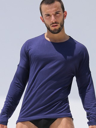 Complete the look: Rufskin Hugo Rayon/Lycra Long Sleeve Tee Navy