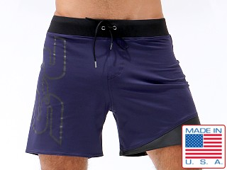 Rufskin Numerik Eight Sport Short Navy