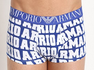 Emporio Armani Logomania Trunk Electric Blue