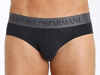 Emporio Armani Iconic Logo Band Brief Marine