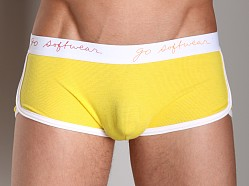 Go Softwear Pop Retro Short Yellow