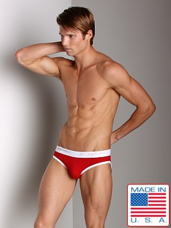 Go Softwear Pop Jock Brief Red