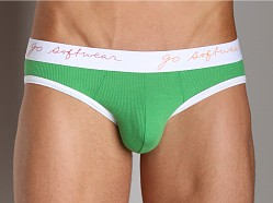 Go Softwear Pop Jock Brief Green