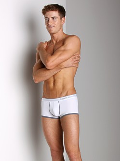 Calvin Klein One Microfiber Low Rise Trunk White