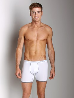Calvin Klein One Microfiber Boxer Brief White
