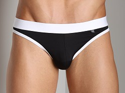 Tulio Vintage Jock Brief Black/White
