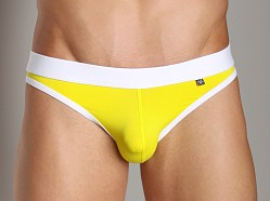 Tulio Vintage Jock Brief Yellow/White