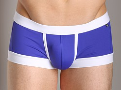Tulio Enhancing Supplex Trunk Royal/White