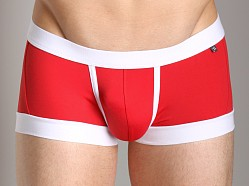 Tulio Enhancing Supplex Trunk Red/White