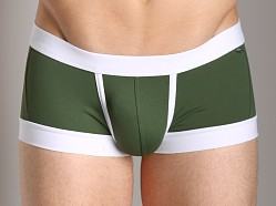 Tulio Enhancing Supplex Trunk Olive/White