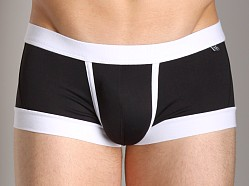 Tulio Enhancing Supplex Trunk Black/White