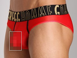 Gregg Homme Commando HyperStretch Brief Red