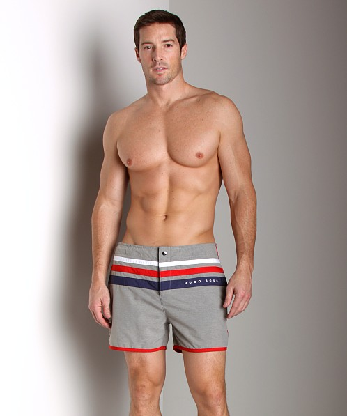 Hugo Boss Trunkfish Swim Shorts Grey