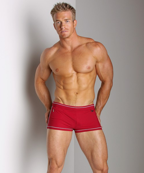 Hugo Boss Robefish Swim Trunk Red