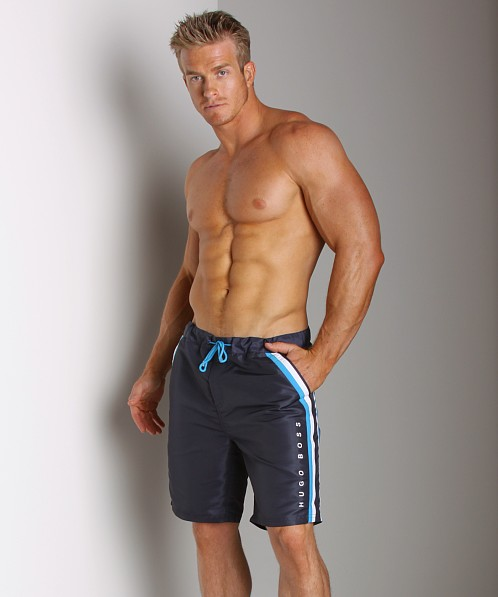 Hugo Boss Rainbowfish Swim Shorts Navy