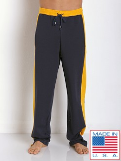 LASC Cotton Track Pant Navy/Gold