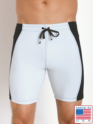 LASC Gym Short Tight Silver/Black