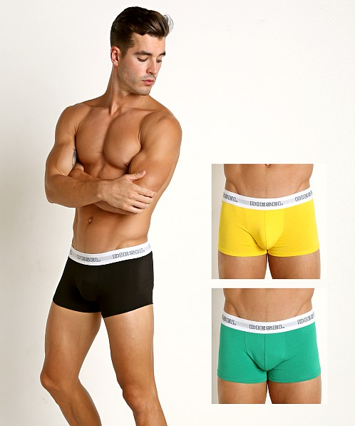 Diesel Classic Kory Trunk 3-Pack Black/Yellow/Green