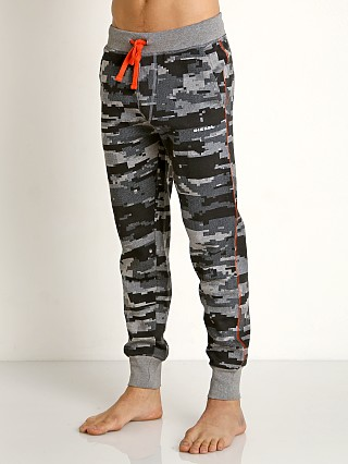 Diesel Camo Peter Lounge Pants Dark Grey Melange