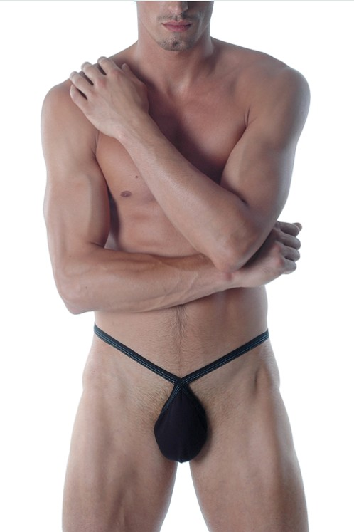 Gregg Homme Black X-IT String