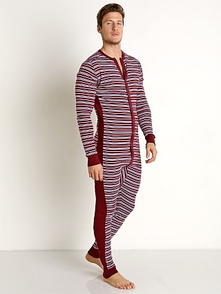 You may also like: 2xist Essential Union Suit Candy Cane/Tawny Port/White