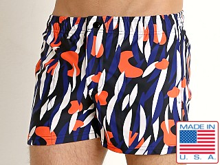 LASC Malibu Swim Shorts Orange Object