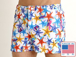 LASC Malibu Swim Shorts Multi Starfish