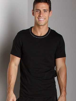 Complete the look: Calvin Klein One Cotton Short Sleeve PJ Top Black