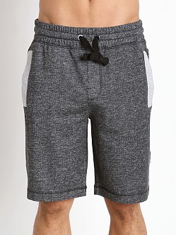 2xist Active Core Terry Short Black Heather