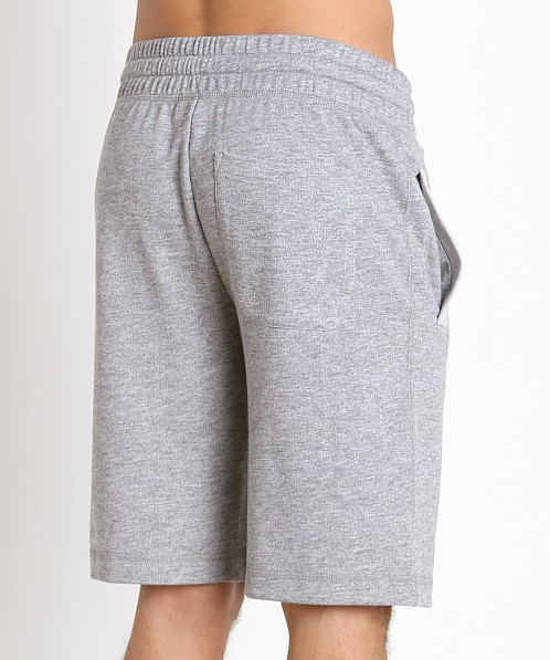 2xist Active Core Terry Short Light Grey Heather