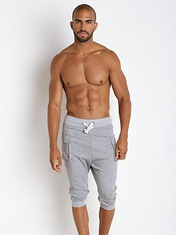 2xist Active Core Cargo Cropped Pant Light Grey Heather