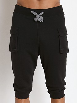 2xist Active Core Cargo Cropped Pant Black