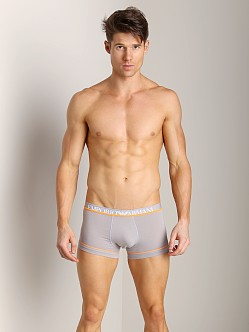 Emporio Armani Fashion Fluo Stretch Cotton Trunk Dust Grey