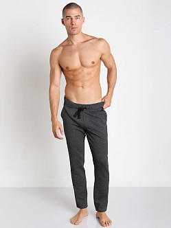 2xist Diamond Jacquard Slim-Leg Pant Black