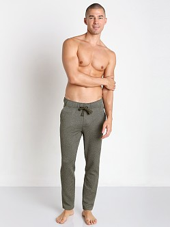 2xist Diamond Jacquard Slim-Leg Pant Military