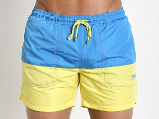Hugo Boss Stonefish Swim Shorts Open Turquoise