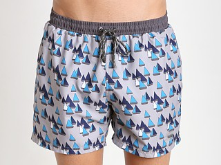Hugo Boss Piranha Swim Shorts Open Grey