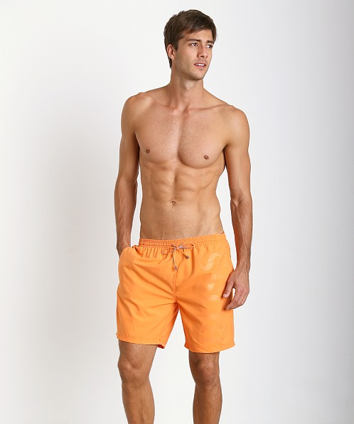 Hugo Boss Orca Swim Trunks Orange