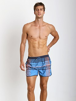 Hugo Boss Bowfin Swim Trunks Blue