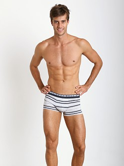 Hugo Boss Innovation 3 Cotton Stretch Boxer Grey Stripes
