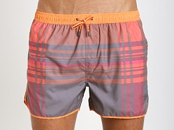 Hugo Boss Bowfin Swim Trunks Orange