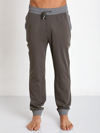 Hugo Boss Cuffed Lounge Pant Dark Green
